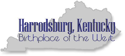 The City of Harrodsburg, Ky Logo